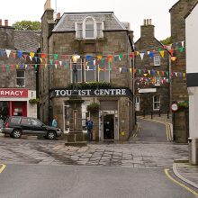 Lerwick, Lerwick iCentre and Market Cross, Shetland copyright David Dixon